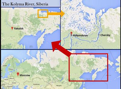 Kolymskoye map